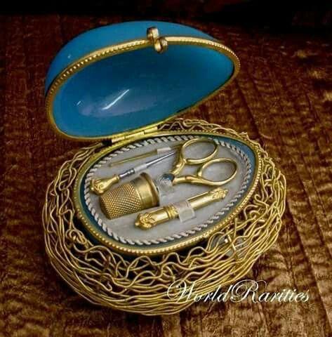 ادوات خياطه Antique Sewing Kit Sewing Equipment Sewing Accessories