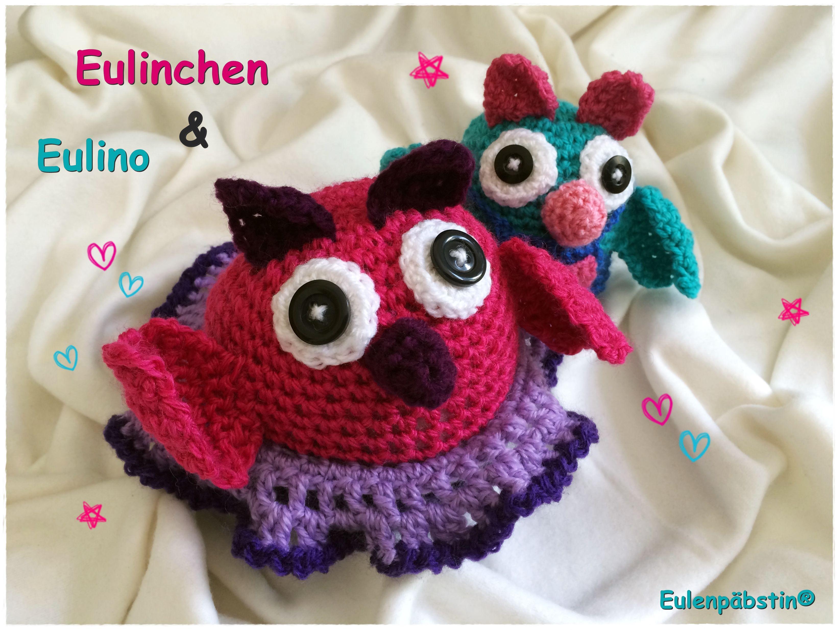 Eulinchen & Eulino - Das etwas andere Handarbeitsbuch. Häkeln ...