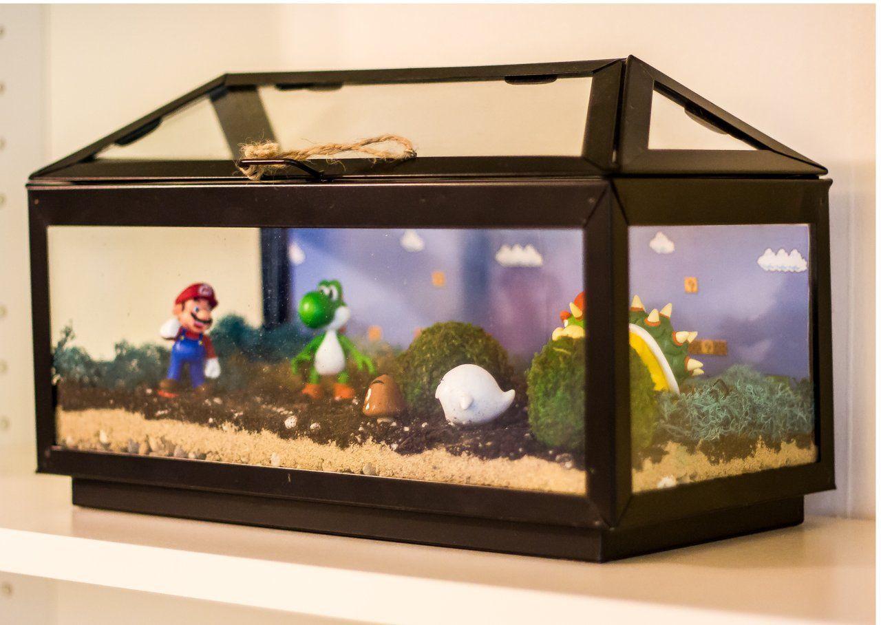 Mario Brothers Aquarium Decorations 17 Best Images About Super Sibs On Pinterest Super Mario