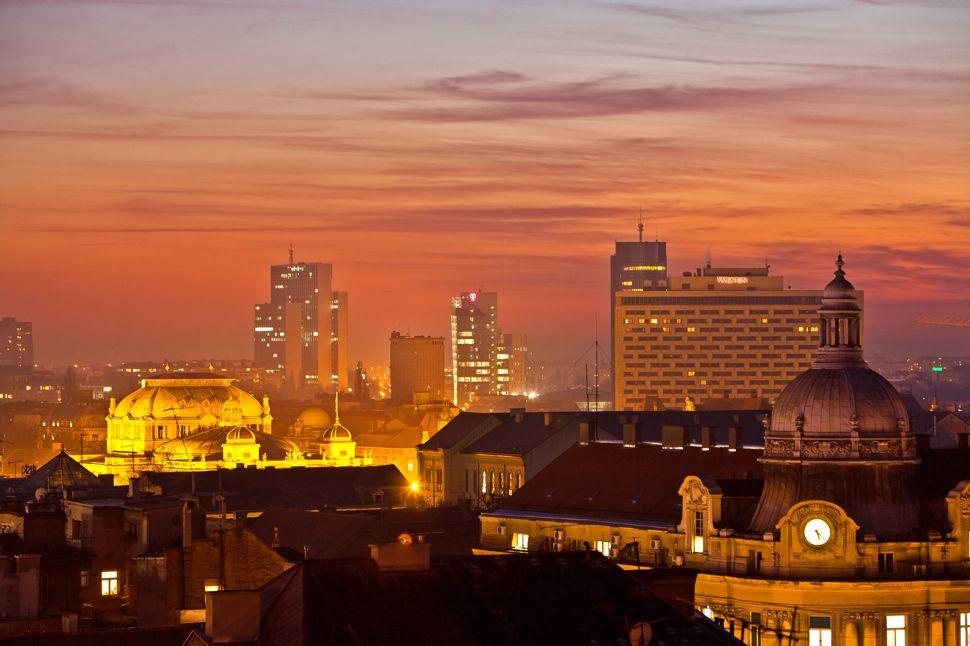 Big Picture Zagreb Skyline Likecroatia Zagreb Skyline Croatia