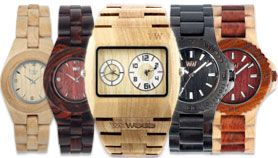 Wooden watches from WeWood