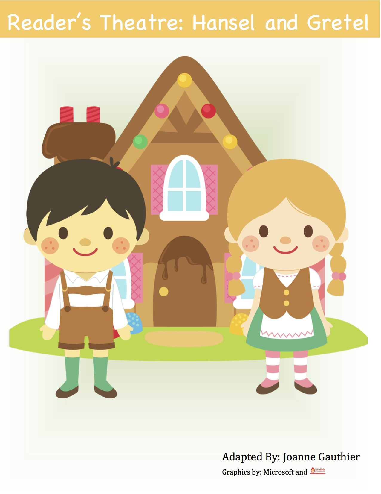 Hansel And Gretel Reader S Theatre For Grades 1 And 2 Readers Theater Fairy Tales Stories For Kids
