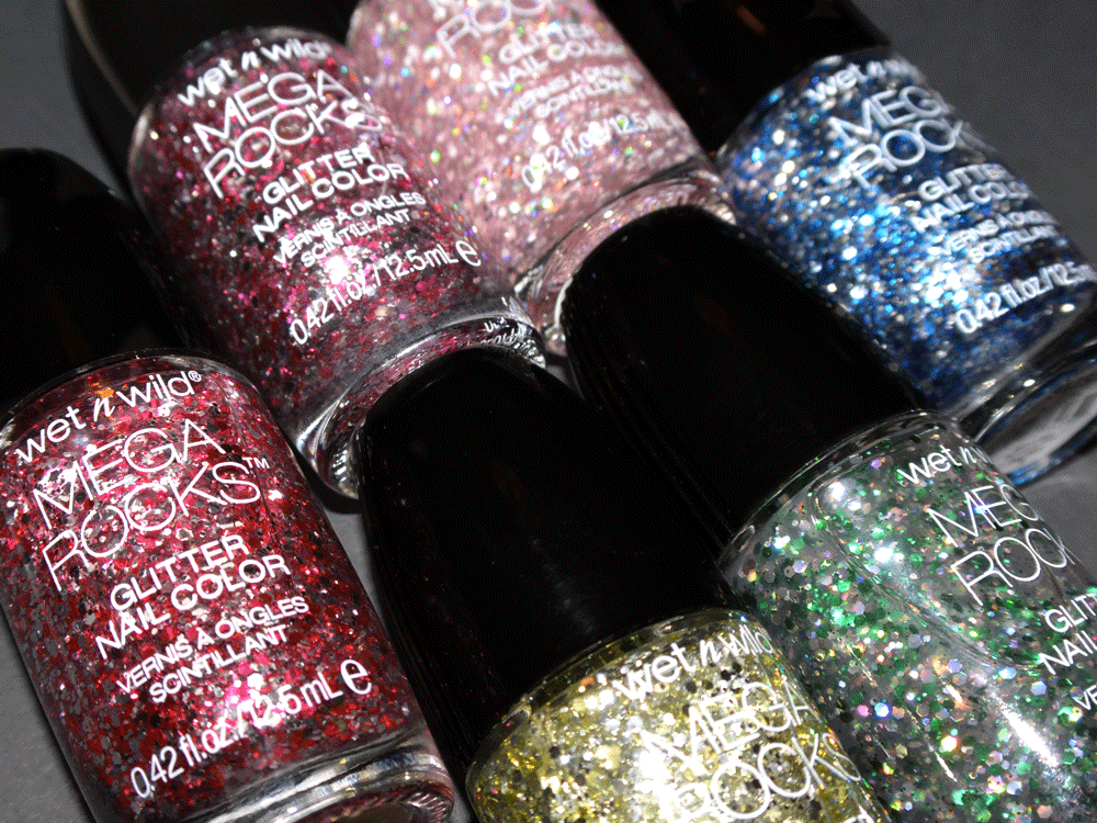 Glitter nail polish from wet n wild beauty's holiday collection because the holidays call for a little sparkle. #makeup #nails #manicure