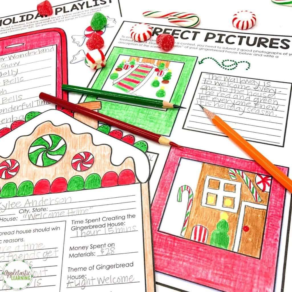 Christmas Writing Prompts With A Gingerbread Pbl Twist