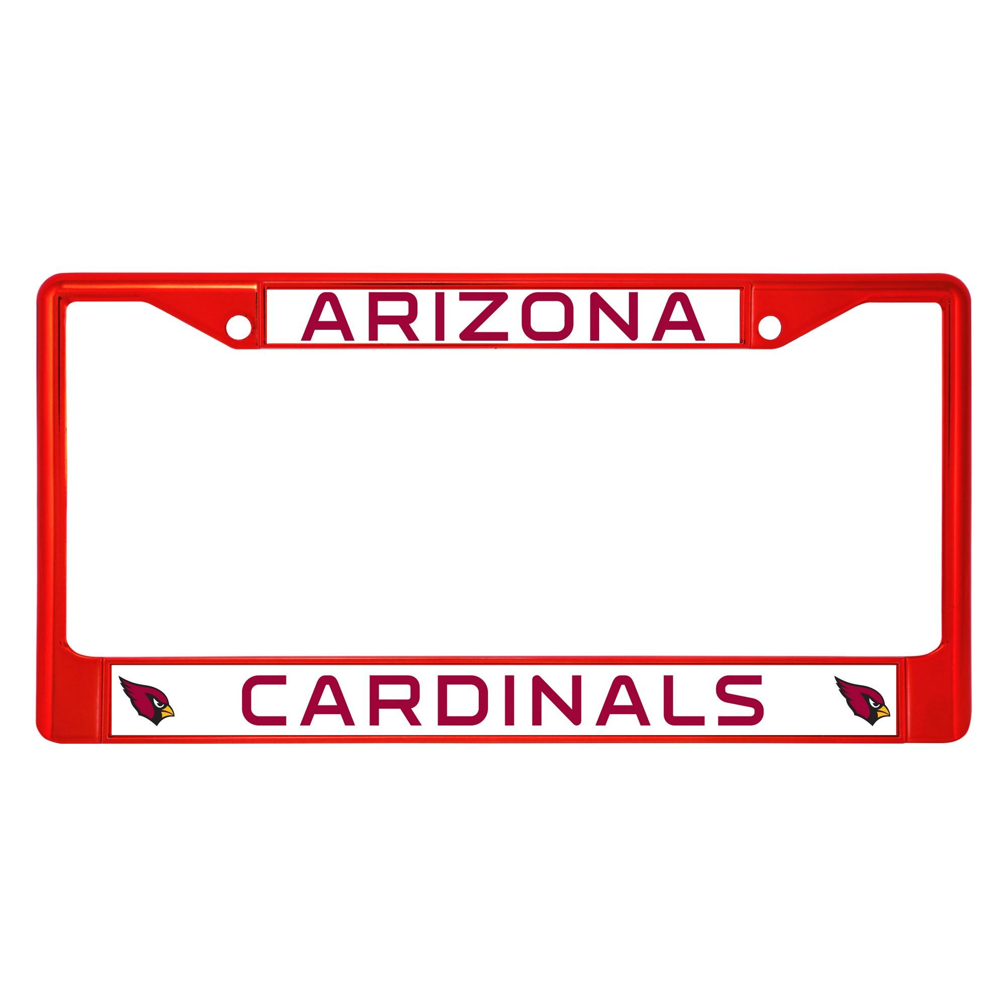 NFL Arizona Cardinals License Plate Frame | Nfl arizona cardinals ...
