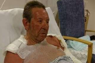 MP Gordon Henderson burnt in petrol bonfire accident