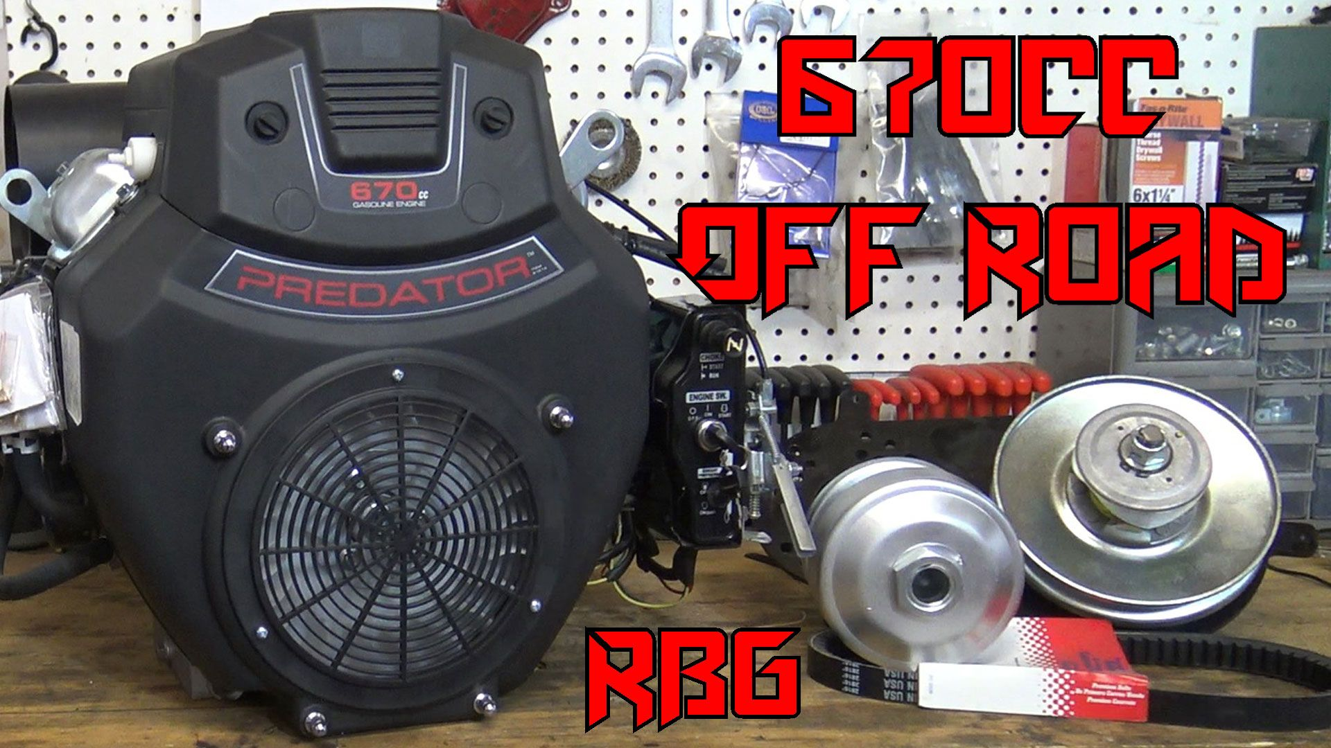 Red Beard S Garage Puts A 670cc On A Yerf Dog Kart Check It Out On Youtube Don T Forget To Subscribe Go Kart Predator Offroad