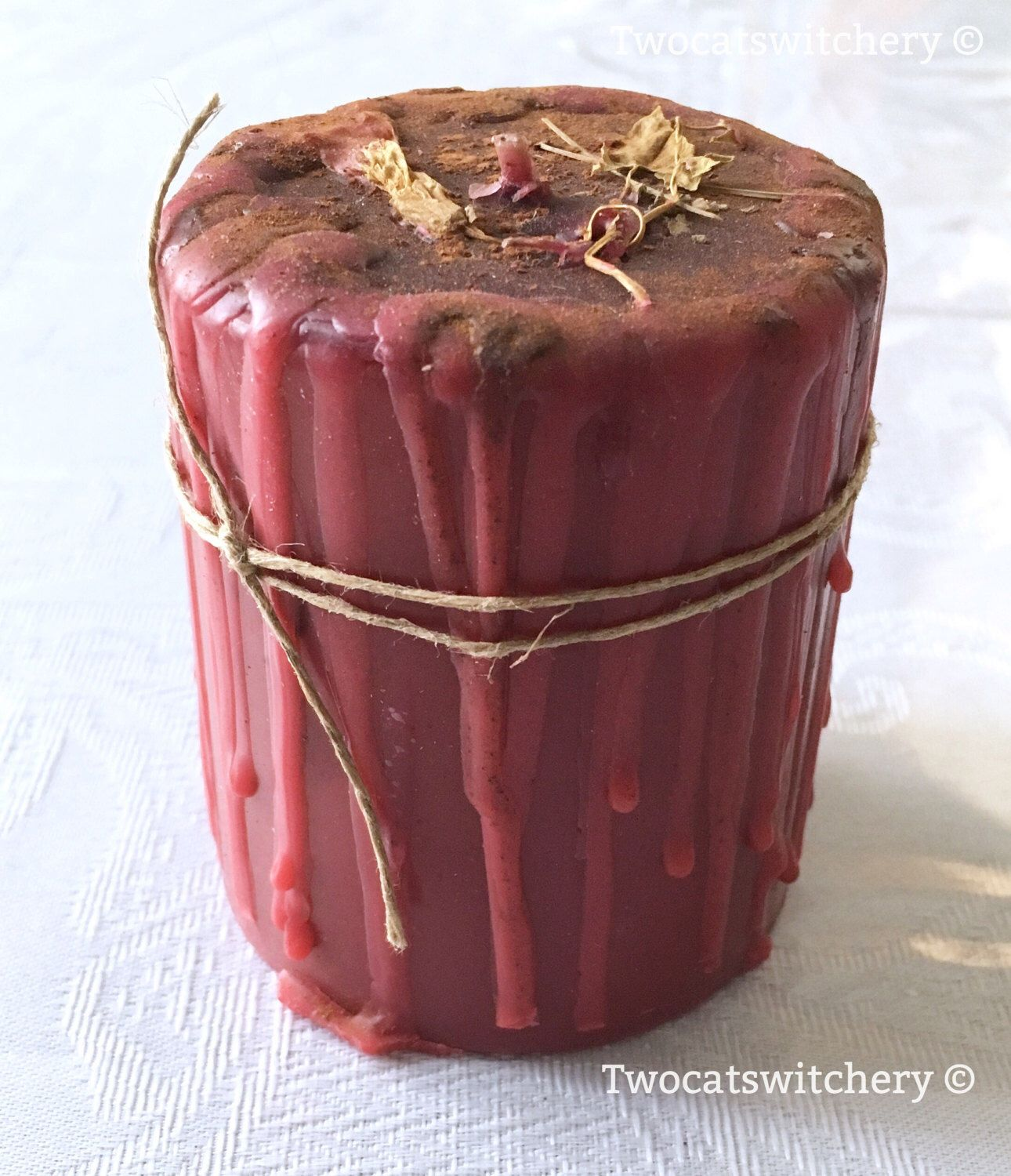 Wiccan Spell Candle Handmade Candles Spell Ritual Candle