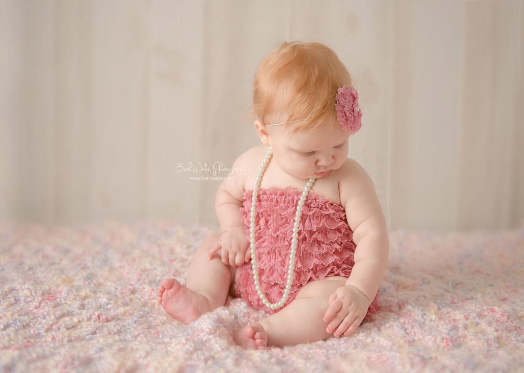 6 Months Old Strawberry Blonde Baby Girl Blonde Baby Girl