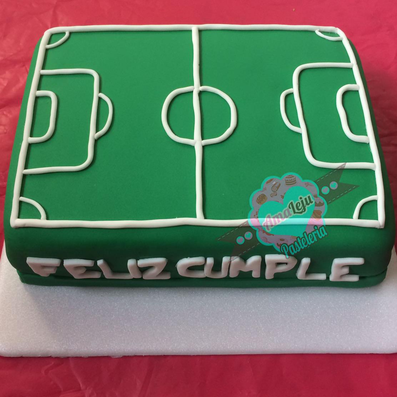 Torta Cancha de Futbol Realiza tu pedido por; WhatsApp