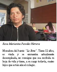 Sra. Rosa Paredes