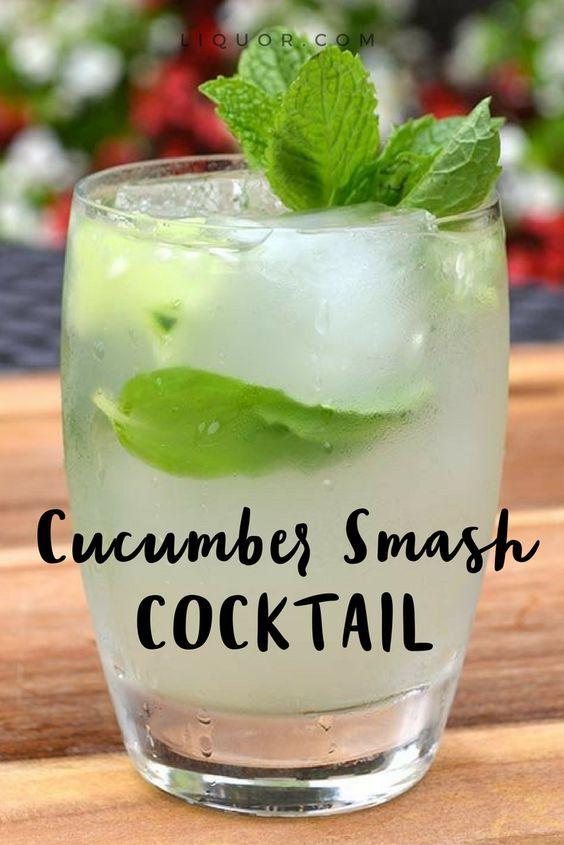 NOLET'S Cucumber Smash | Recipe | Drinks alcohol recipes. Fruity cocktails. Cucumber drink