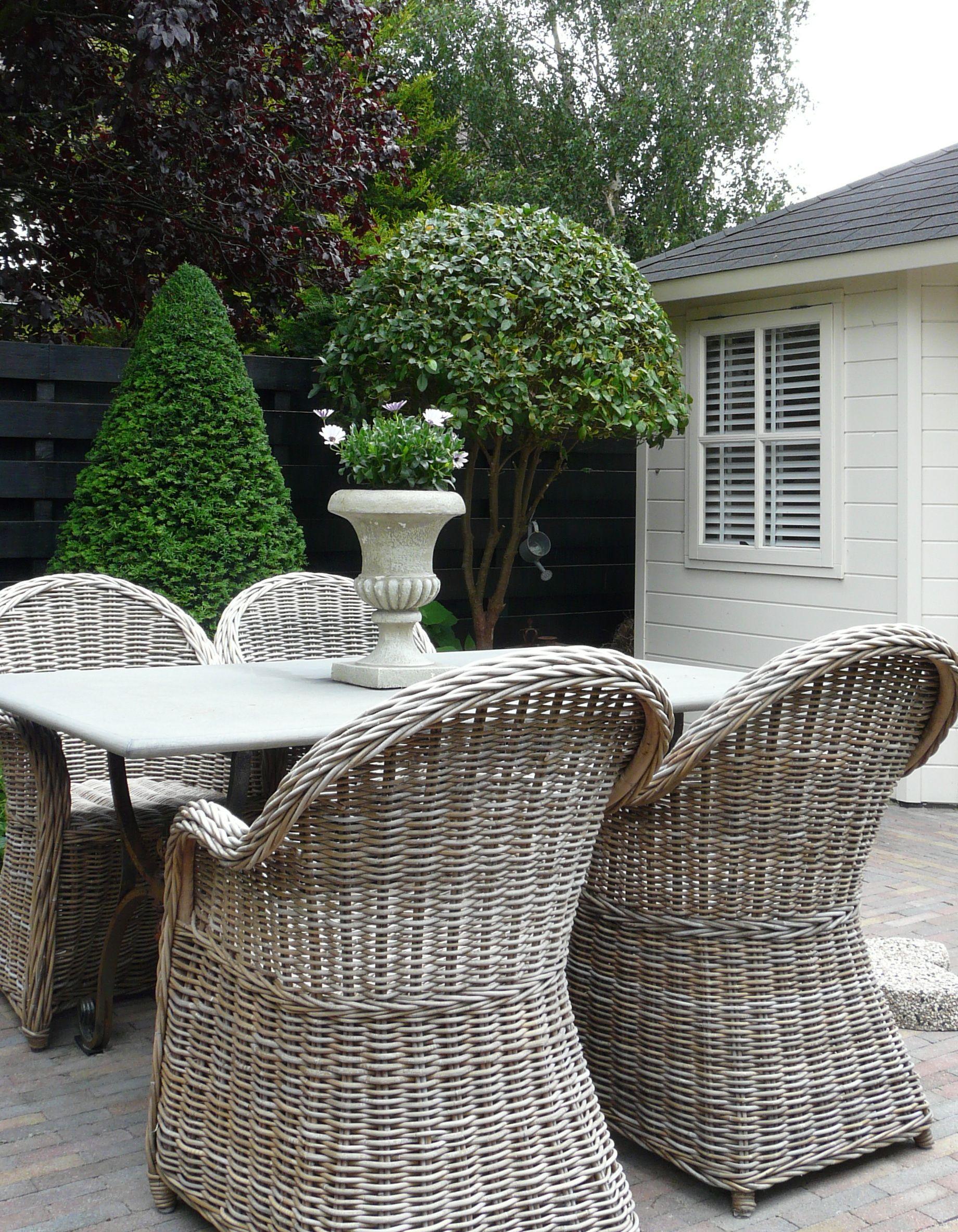 Great Outdoor Dining Chairs Gardens Garten Terrasse Korbmöbel