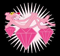 Free Pink Panther Line Sticker Http Www Line Stickers Com Pink Panther Pink Panther Cartoon Pink Panthers Pink Panter