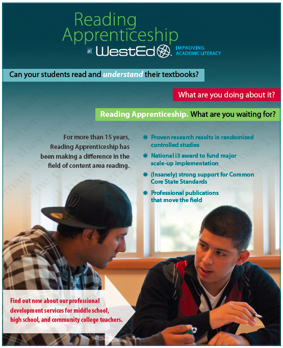 Reading Apprenticeship Project At Wested Teach Pinterest