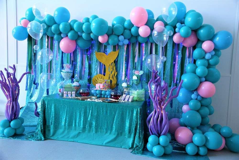 Pin On Princess Mermaid Party