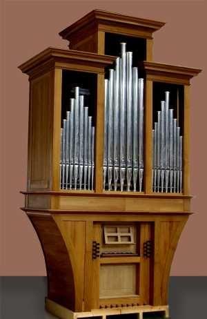 Das Portal der Königin - Informationen rund um die Pfeifenorgel - Spanien - San José - Kirche