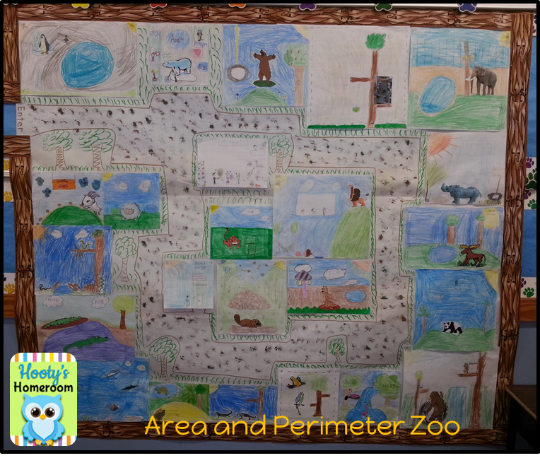 Area And Perimeter Zoo. Lots Of Fun Ideas On This Site