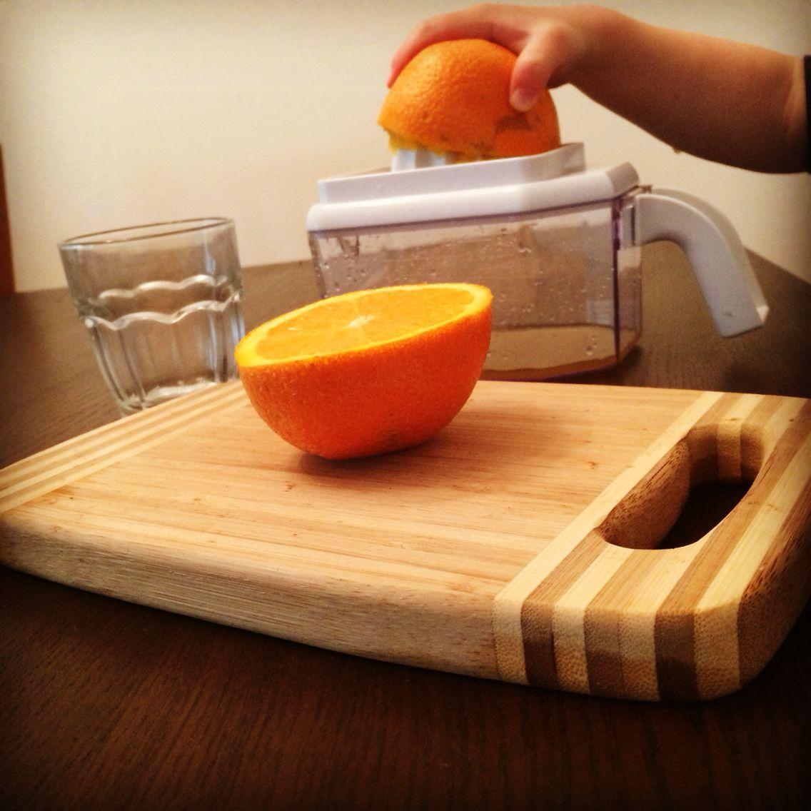 Montessori 3 6 Practical Life Fresh Squeezed Orange Juice