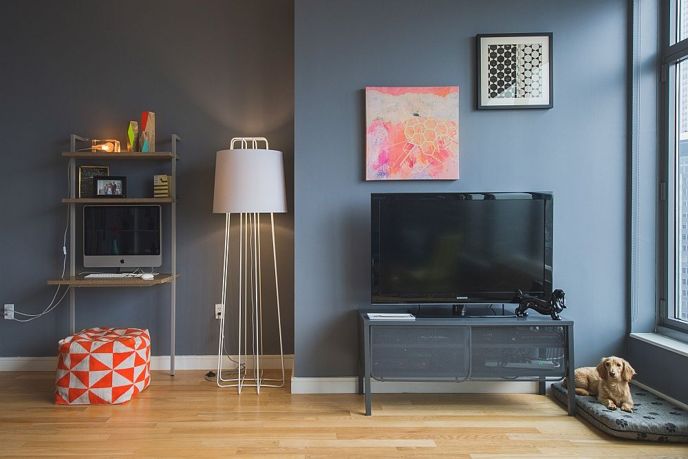 masculine studio apartment - Google Search   Big bedrooms ...