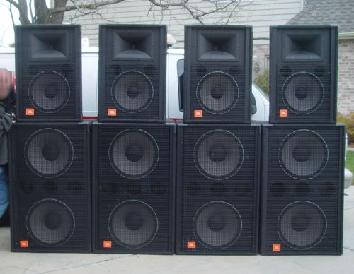 JBL Concert Speakers WORLD TURN STAGE AND SOUND