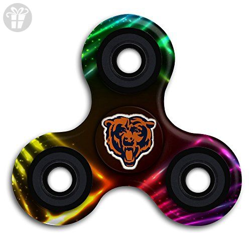 Chicago Bears Championship Drive Gold Fid Toy Hand Spinner