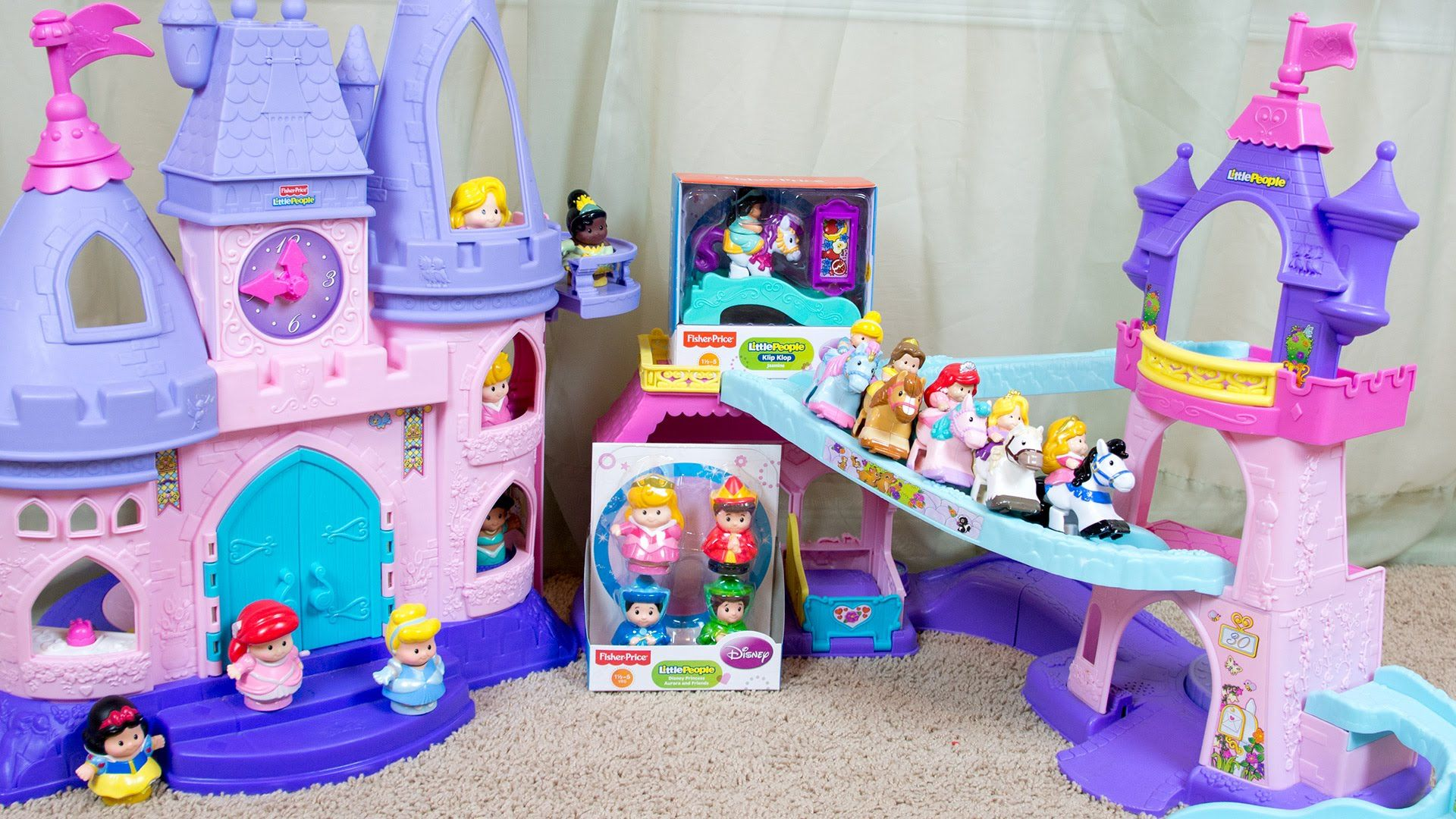 Fisher Price Little People Disney Princess Aurora and Friends Klip