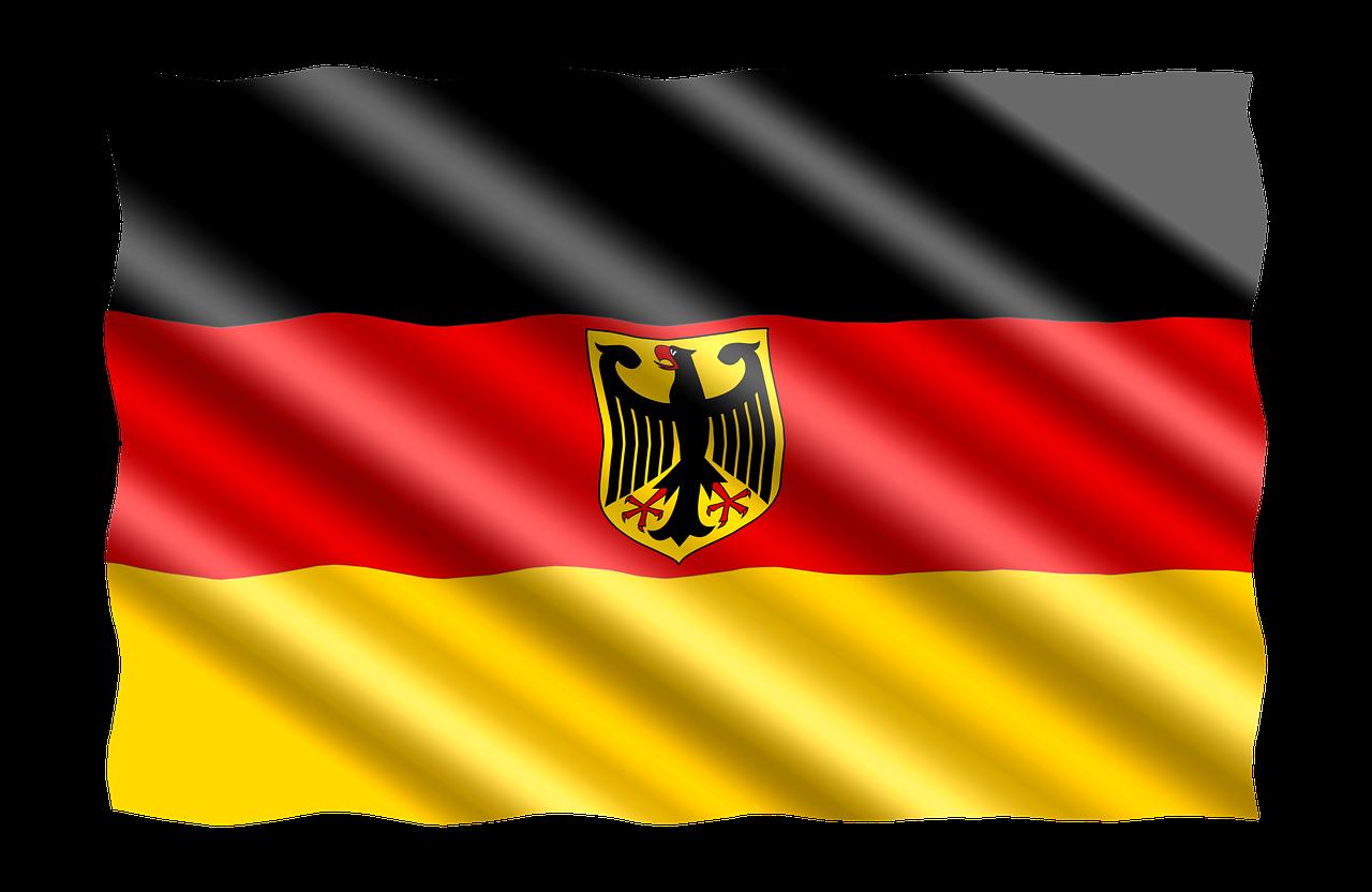 Флаг германии рисунок