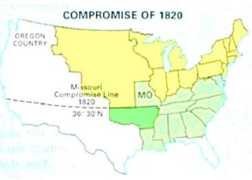 What Was The Missouri Compromise In An Effort To Preserve The - Missouri compromise interactive map