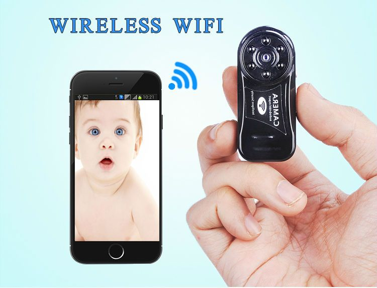 Mini  Wireless Wifi Camera 720P HD IP Night Vision Hidden Spy Hoursing Security DV DVR Micro Network Digital Video Camcorder