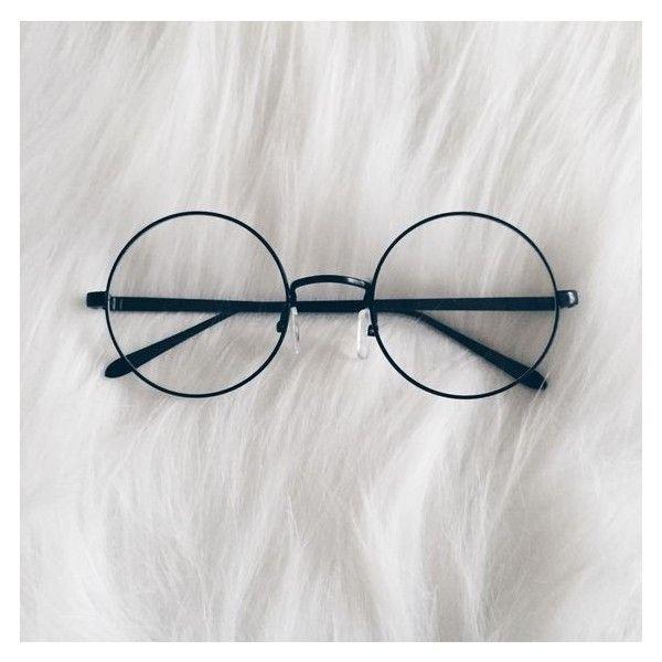 Oculos Redondo Estilo Harry Potter Preto Com Imagens Armacao
