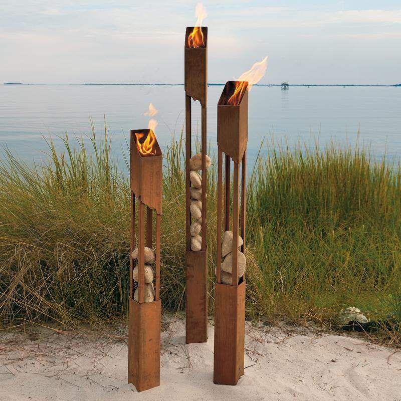 luminaire exterieur flambeau