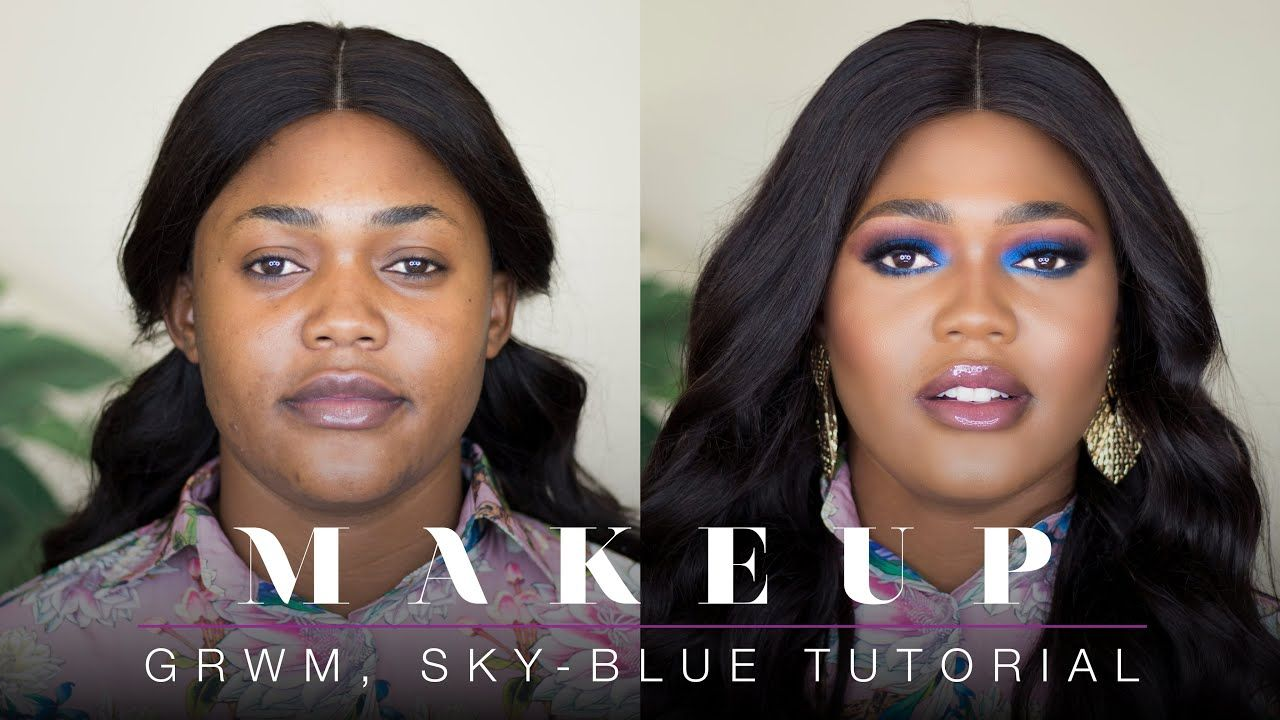 Grwm Makeup Blue Eyeshadow Tutorial New Foundation Estee Lauder Deliwe Themua Youtube In 2020 Eyeshadow Makeup Eyeshadow Makeup Get the top grwm abbreviation related to makeup. pinterest