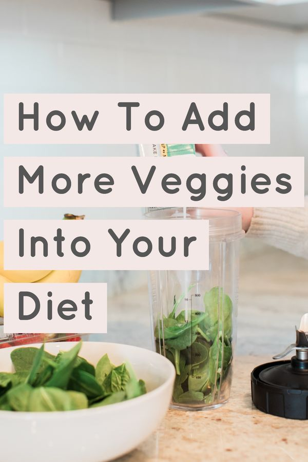 how to get more vegetables in diet