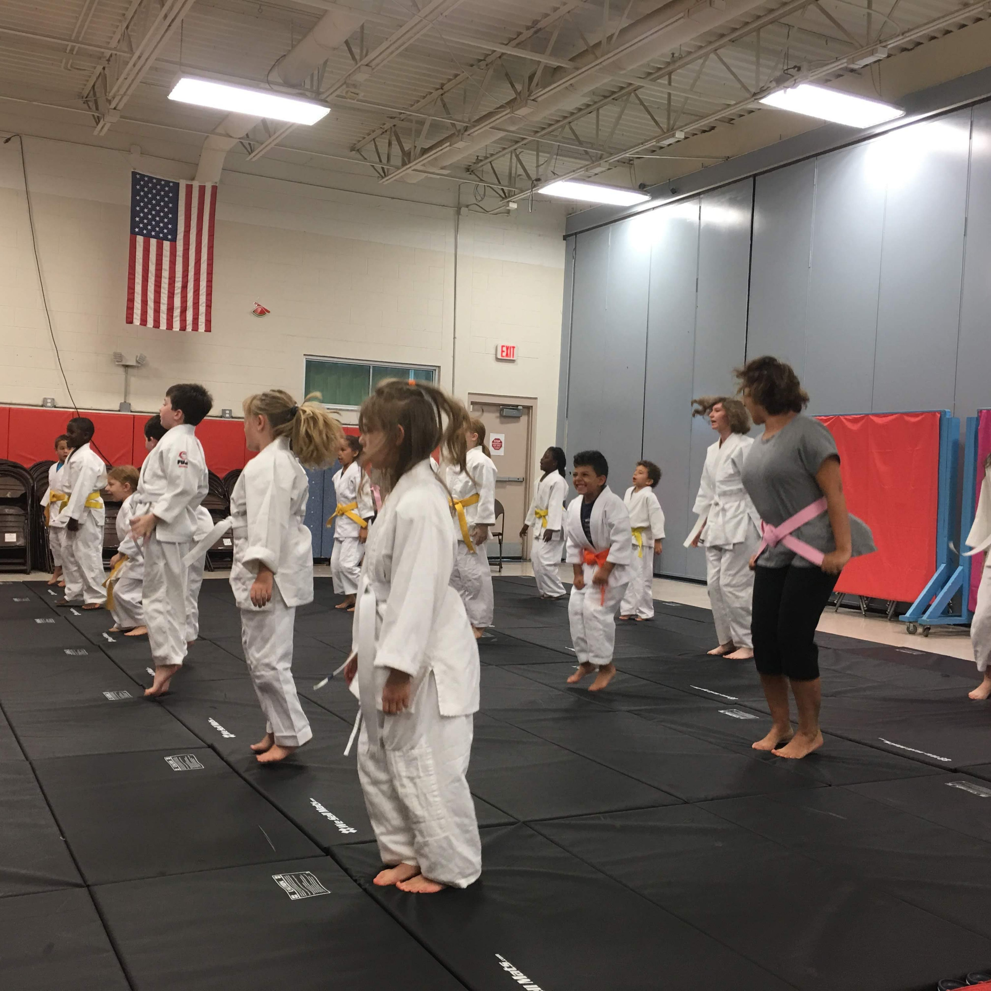 Family martial arts fitness with images family