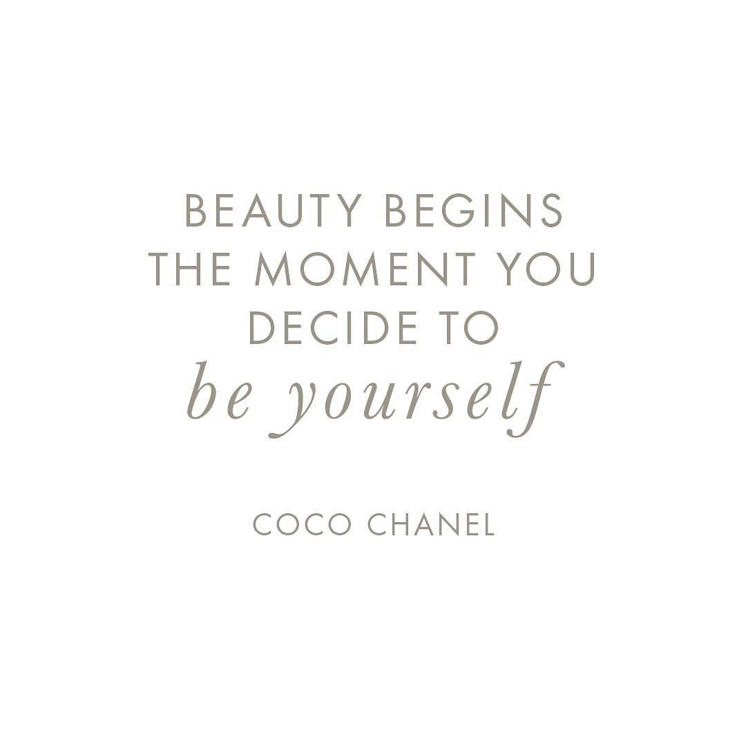 Because True Beauty Comes From Within Cocochanel Feelgood