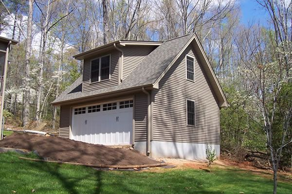 2 Car Garage With Shed Dormer Shed Dormer House With Porch Simple Porch Designs