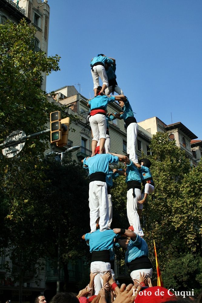 Diada Nacional de Catalunya 11-09-2014 1.800.000 catalans fan història.