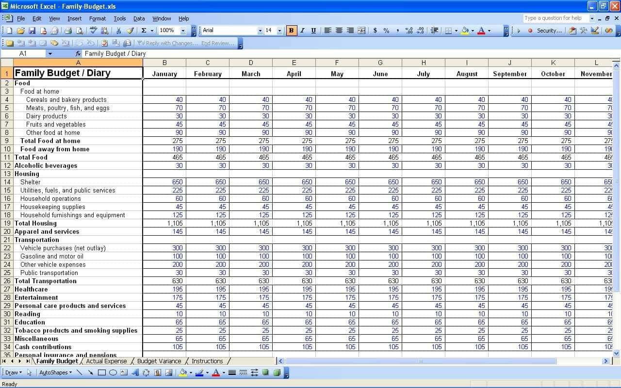 Accounting Software Templates Free