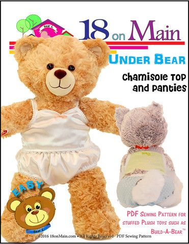 Under Bear Pattern For Build A Bear Dolls 18 Doll Patterns From