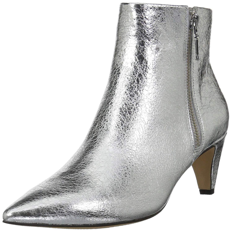 Amazon Brand The Fix Women S Kenzee Kitten Heel Bootie Ankle Boot