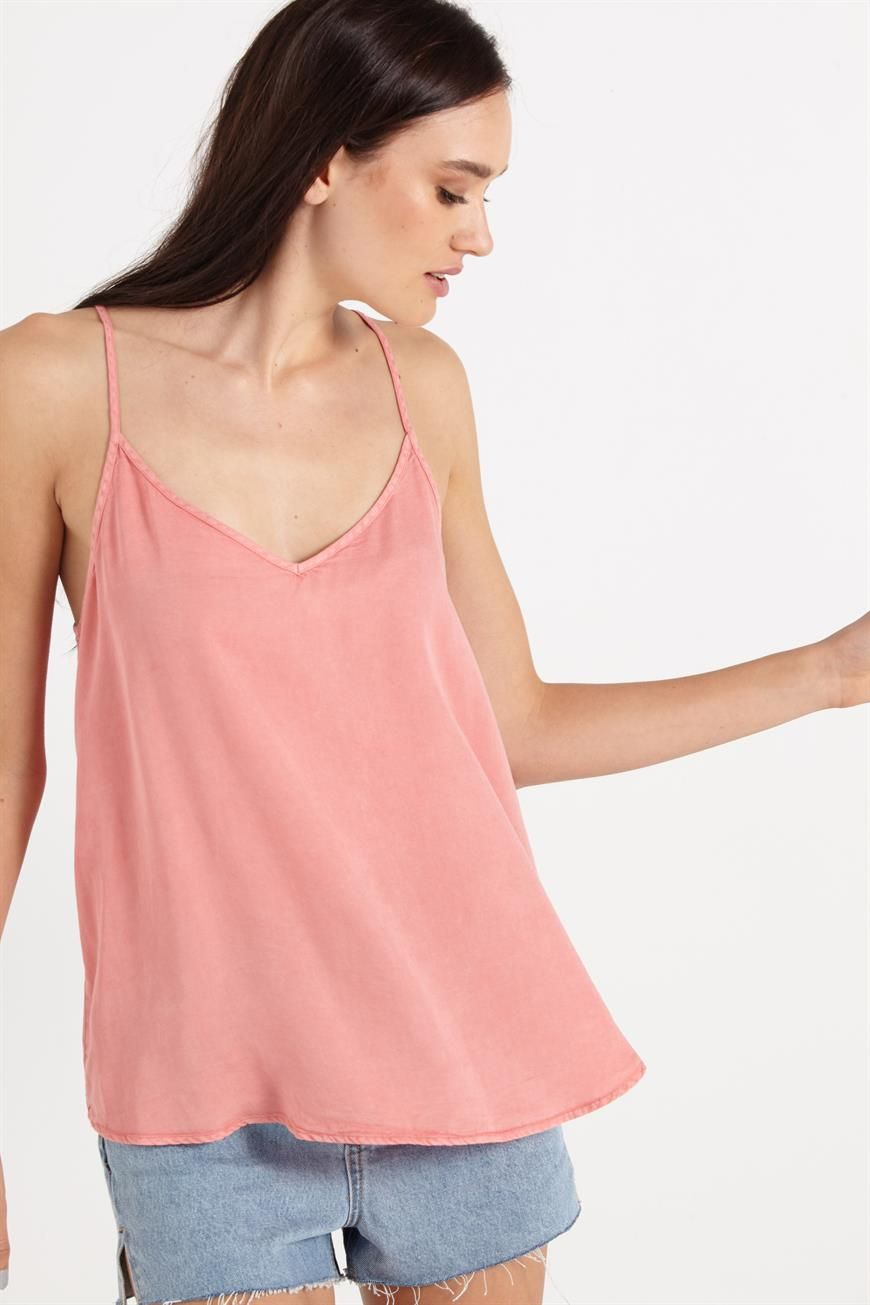 lily cage back cami Fashion, Clothes, Tops