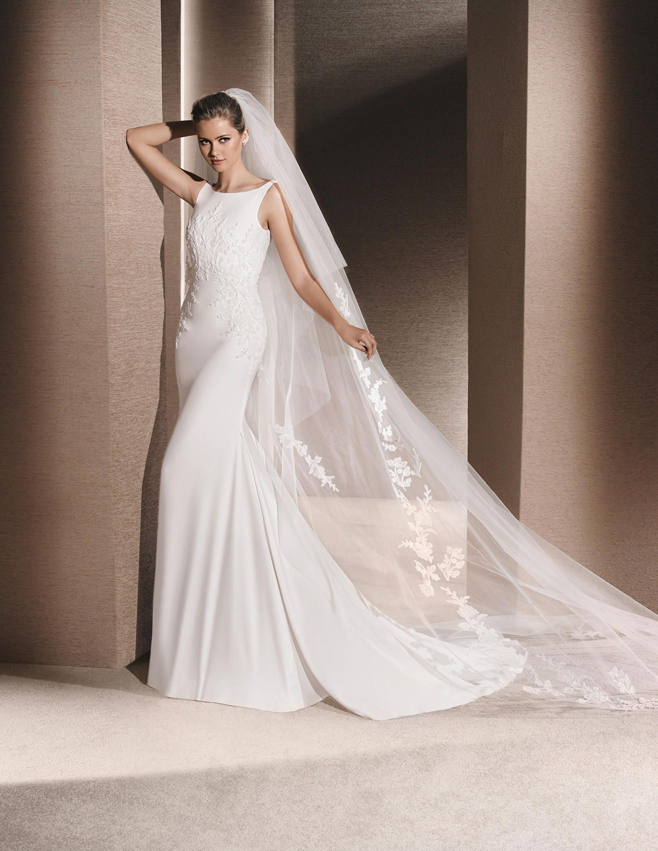 Lovely La Sposa Raquel Available at Stella us Bridal u Evening Collections
