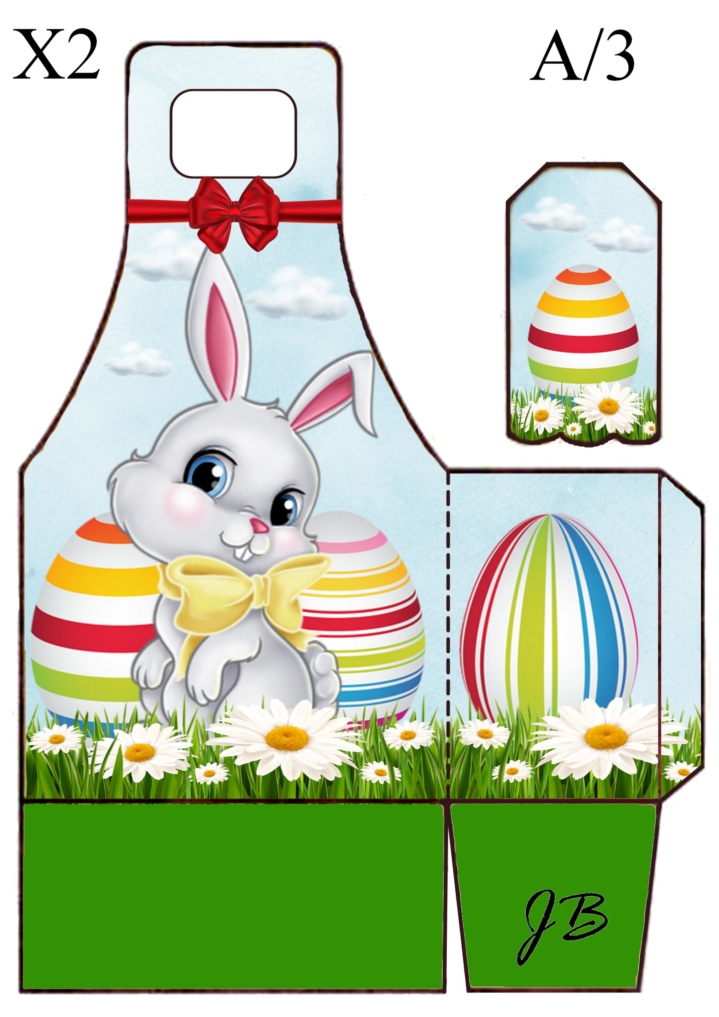 Easter rabbit pinterest rabbit easter and box easter rabbit negle Image collections