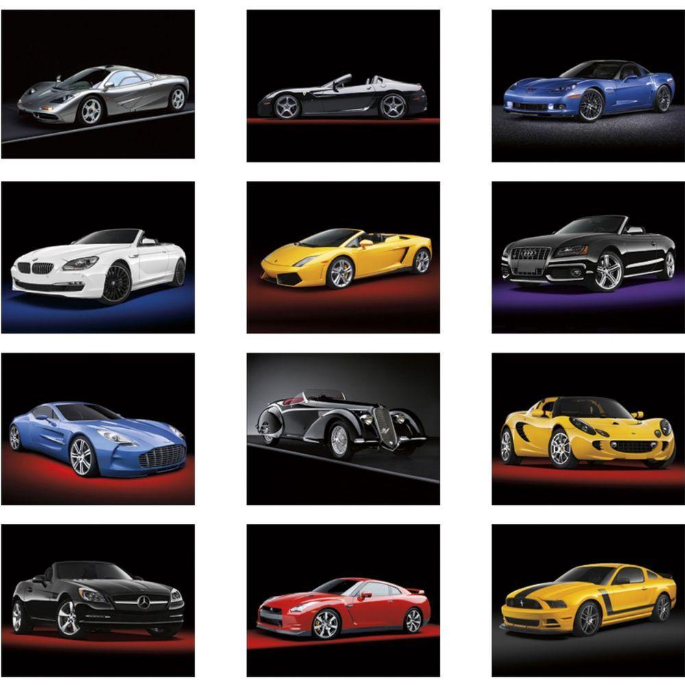 Exotic Sports Cars Stapled Calendar Custom Calendars - Sports cars calendar 2018