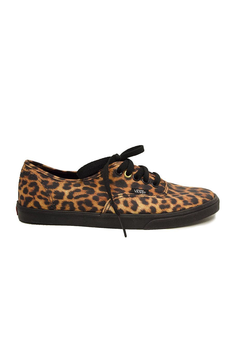 f75236bbcf There is a reason that cheetah print has always been fashionable. These lace  up Vans