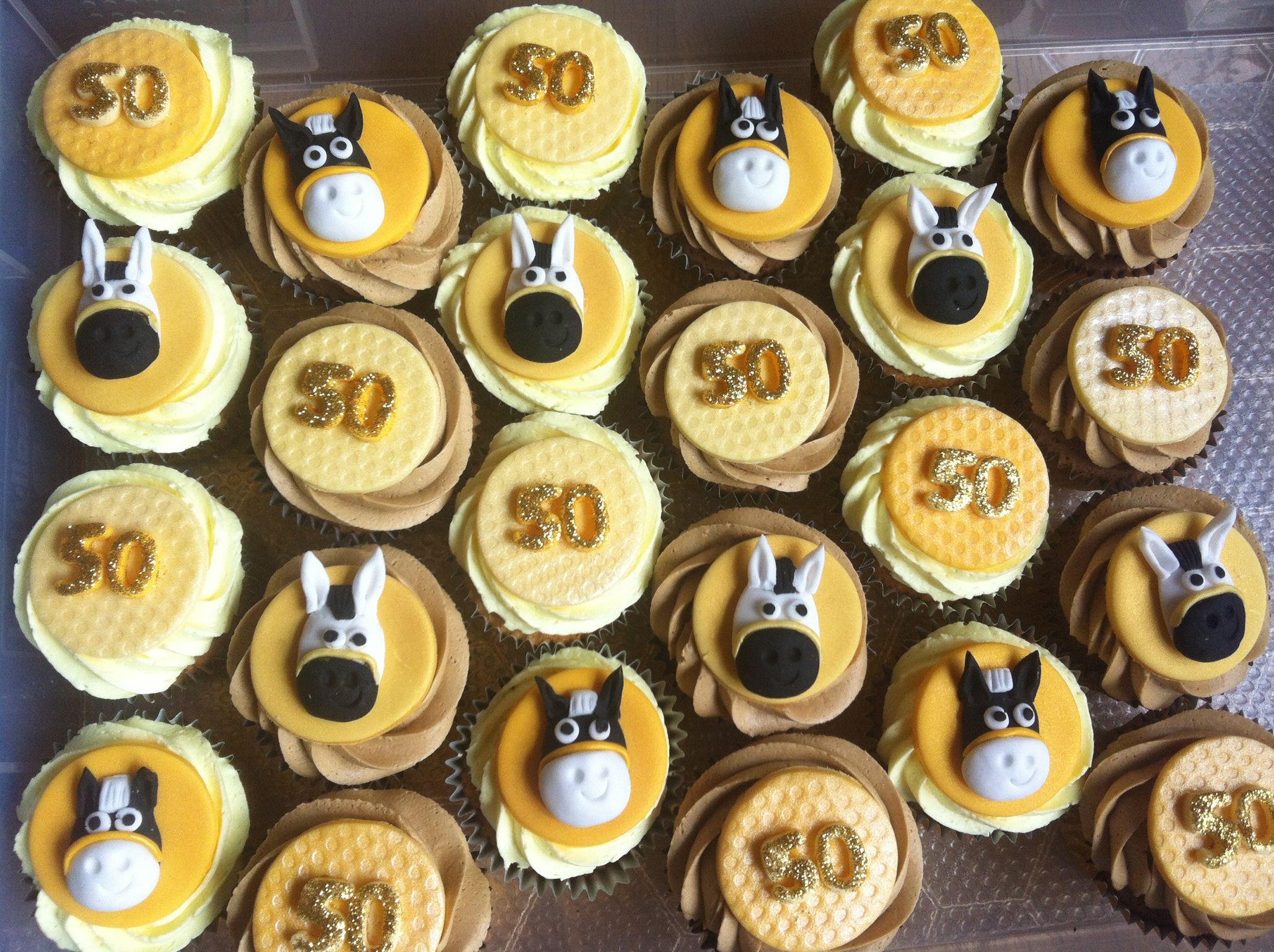 Horses And 50 S Cupcakes