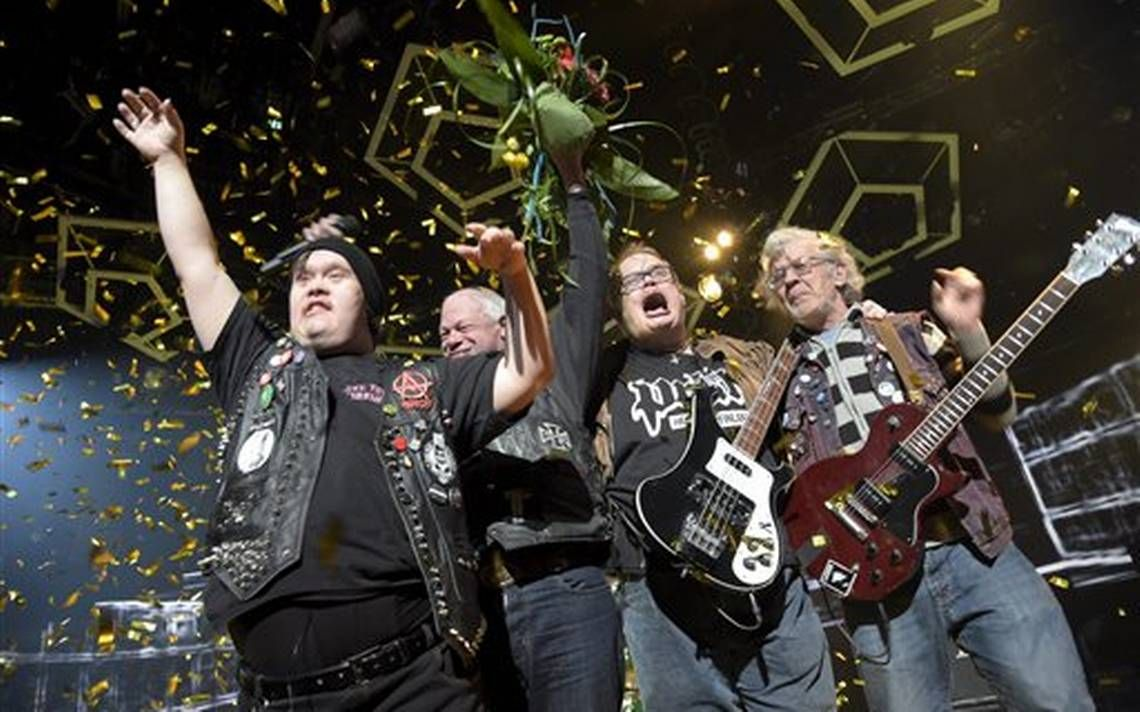 Banda de punk de discapacitados compite en Eurovisión