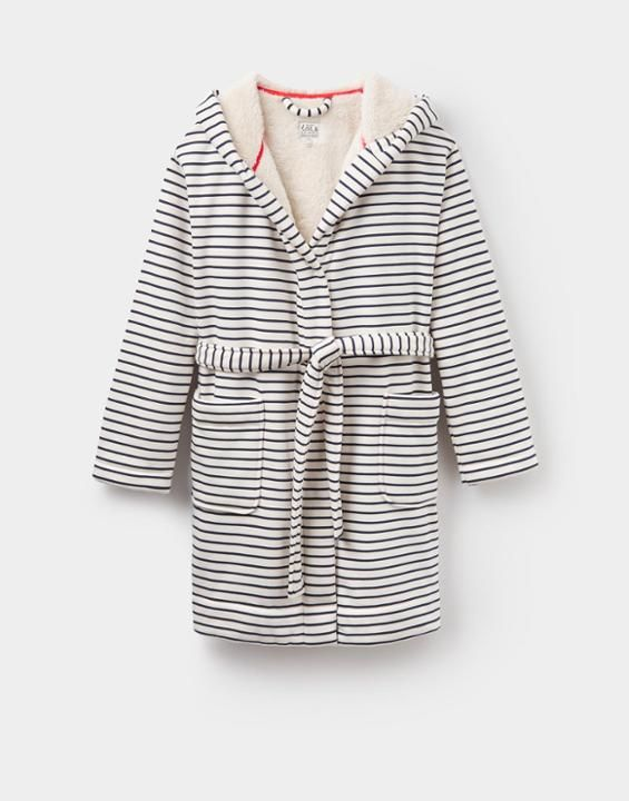 Joules Idlewhile Fleece-Lined Dressing Gown | For customers ...