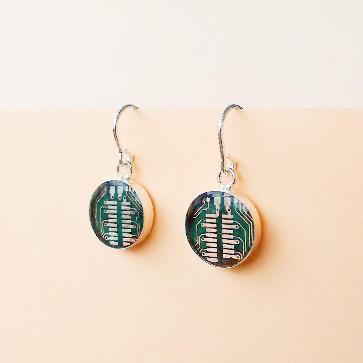 Ohrhänger Ohrringe CircuitAccessories Accessoires Leiterplatten ...